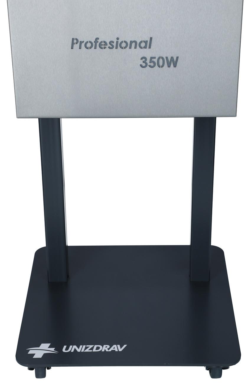 UNIZDRAV PRO 350W zárt germicid lámpa, gördíthető változat